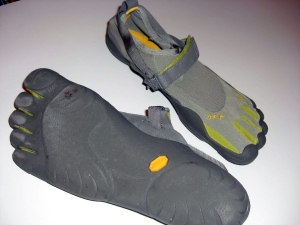 Vibram FiveFingers KSO top and bottom